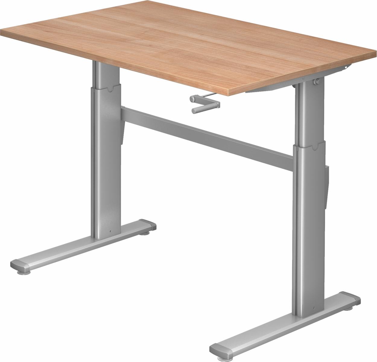 stehschreibtisch sitz steh schreibtisch b rotisch ergonomisch b rotisch b m xk ebay. Black Bedroom Furniture Sets. Home Design Ideas