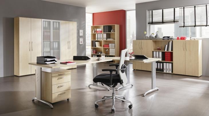 Büroeinrichtung von Bümö