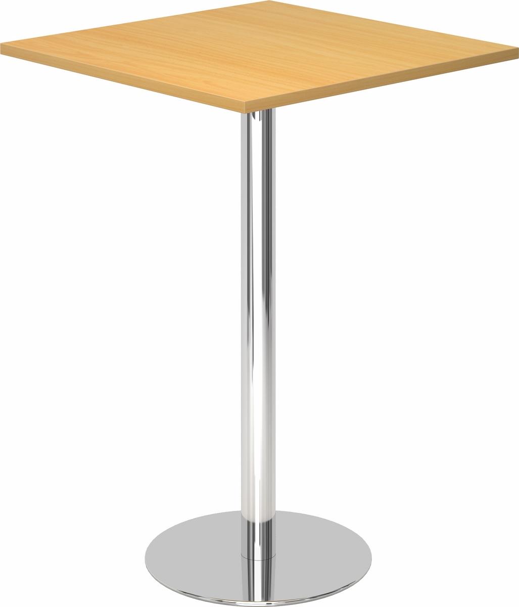 stehtisch bistrotisch bartisch biertisch kantinentisch bistro tisch eckig b m ebay. Black Bedroom Furniture Sets. Home Design Ideas