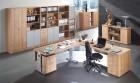 Bümö® Schreibtisch Serie-O in 7 Dekoren, 3 Gestellen, 9 Größen & Formen