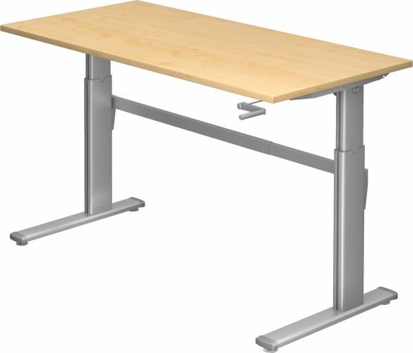 Kurbel-Schreibtisch