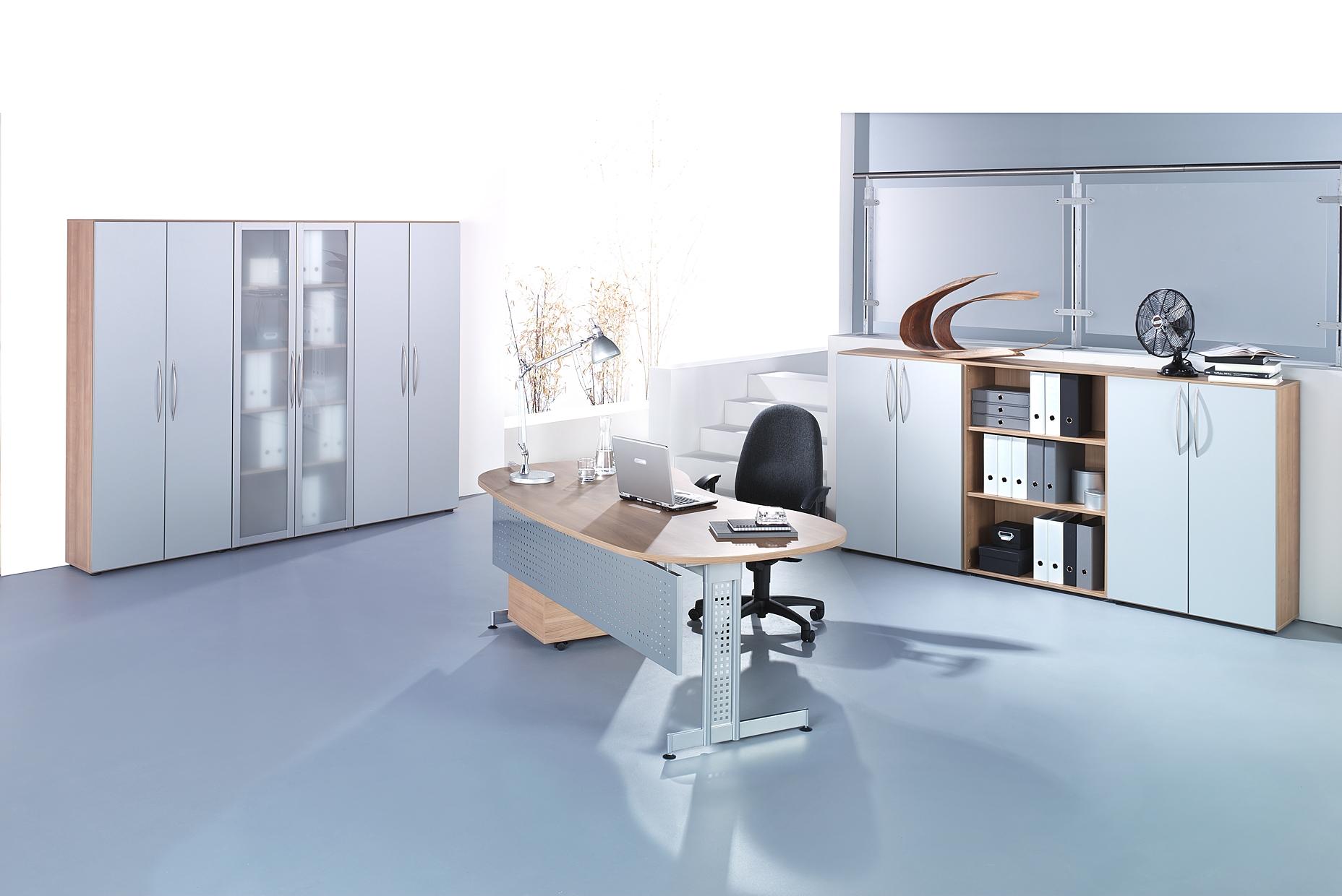 aktenschrank b roschrank regalschrank fl gelt rschrank holz wei buche b m ebay. Black Bedroom Furniture Sets. Home Design Ideas