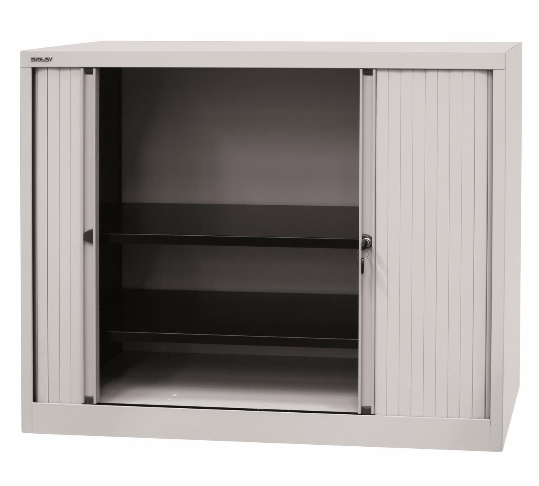 rollladenschrank b roschrank abschlie bar metall rolladen aktenschrank schrank ebay. Black Bedroom Furniture Sets. Home Design Ideas