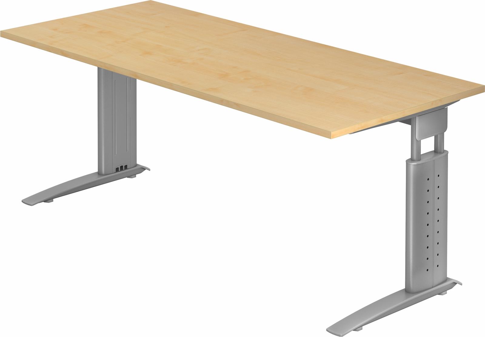 Schreibtisch h henverstellbar b rotisch b roschreibtisch for U schreibtisch