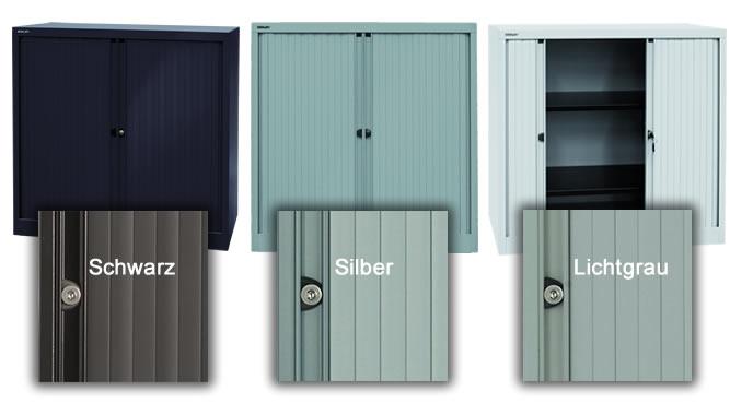 rollladenschrank b roschrank abschlie bar metall rolladen. Black Bedroom Furniture Sets. Home Design Ideas
