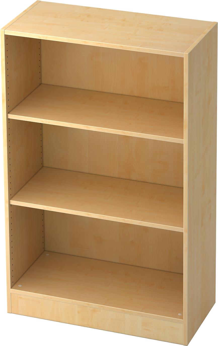 b m office aktenregal aus holz f r 3 ordnerh hen b rom bel. Black Bedroom Furniture Sets. Home Design Ideas