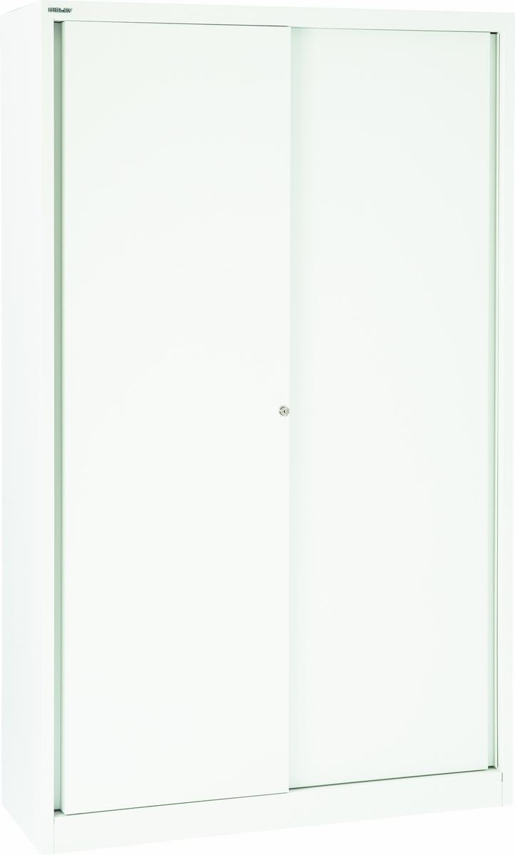 schiebet renschrank aktenschrank metall abschlie bar b roschrank stahl bisley ebay. Black Bedroom Furniture Sets. Home Design Ideas