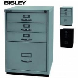 Bisley Serie F Standcontainer mit 4 Schubladen