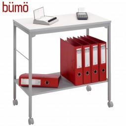 Bümö® Bürowagen auf Rollen für Ordner & Ablagen | rollbarer Mehrzwecktisch