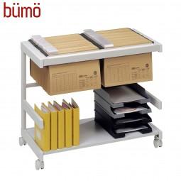 Bümö® Bürowagen auf Rollen für Hängemappen & Ordner