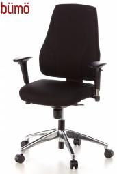 Bümö® Bürostuhl Emy mit Aluminium Fusskreuz