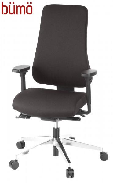 b m ergonomischer xxl b rostuhl mit polsterbezug hier versandfrei bestellen b rom bel. Black Bedroom Furniture Sets. Home Design Ideas