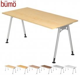 Bümö® Schreibtisch Serie-A in 7 Dekoren, 7 Größen & Formen