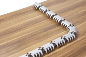 Bümö® Kabelspirale horizontal für Schreibtische