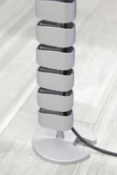 Bümö® Kabelspirale vertikal für Schreibtische