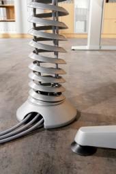 Bümö® Kabelspirale vertikal (groß) für Schreibtische