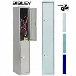 Bisley Garderobenschrank Office - 2 Fächer   Tiefe 305 mm