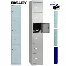 Bisley Garderobenschrank Office - 6 Fächer | Tiefe 305 mm