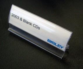 Etikettenfenster für Bisley Hängeregistraturschränke