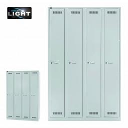 Bisley Garderobenschrank LIGHT - 4 Abteile