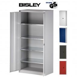 Bisley Universal Flügeltürenschrank - 5 Ordnerhöhen | Tiefe 50 cm