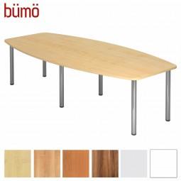 Bümö® Konferenztisch groß - 280 x 130 cm (10 Personen)