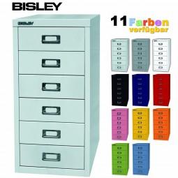 Bisley MultiDrawer™ Schubladenschrank mit 6 Schubladen