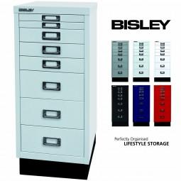 Bisley MultiDrawer™ Schubladenschrank mit 8 Schubladen inkl. Sockel