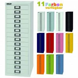 Bisley MultiDrawer™ Schubladenschrank mit 15 Schubladen