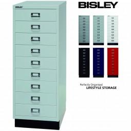 Bisley MultiDrawer™ Schubladenschrank mit 9 Schubladen inkl. Sockel