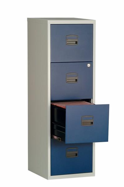 Hängeregistraturschrank Home Office mit 4 Schubladen