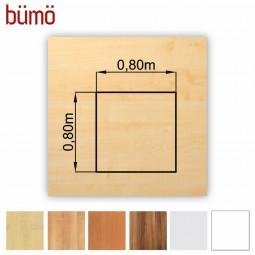 DIY-Schreibtisch: die Tischplatte von Bümö® in 7 Dekoren, 9 Größen & Formen