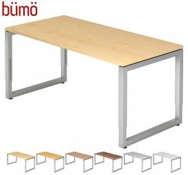 Bümö® Schreibtisch Serie-R in 7 Dekoren & 7 Größen
