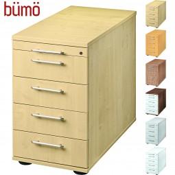 Bümö® Office Standcontainer mit 4 Schüben mit Schloss