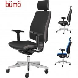 Bümö® Premium Chefsessel mit ergonomischem Komfortsitz