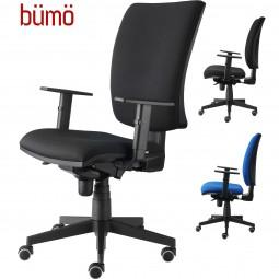 Bümö® ergonomischer Premium Drehstuhl mit hoher Rückenlehne