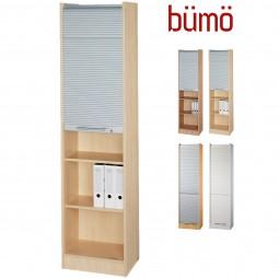 Bümö® Office Rollladenschrank - Aktenschrank für 5 Ordnerhöhen