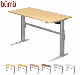 Bümö® ECO ergonomischer Designer Schreibtisch elektrisch höhenverstellbar