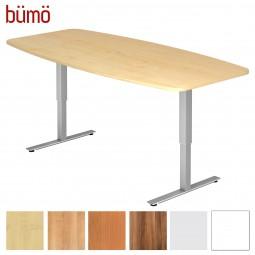Bümö® Konferenztisch elektrisch höhenverstellbar - 220 x 103 cm (8 Personen)