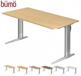 Bümö® Schreibtisch Serie-XS in 7 Dekoren, 8 Größen & Formen