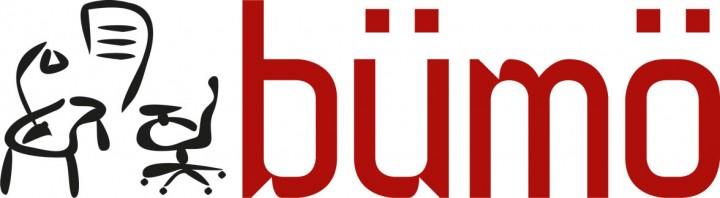Bümö® Schiebetürenschrank - Aktenschrank für 2 Ordnerhöhen