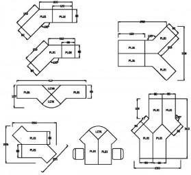 Bümö® Verkettungs-Anbauplatten für Schreibtische