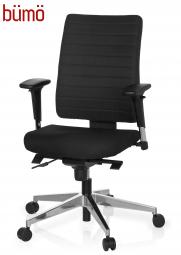 Bümö® Bürostuhl Emy Comfort+ mit besonders bequemen Polsterbezug