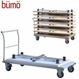 Bümö® Transportwagen für Klapptische - Schwerlast 400 kg