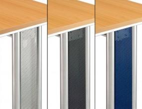 Bümö® Blenden für N-Serie Schreibtische in 4 Farben