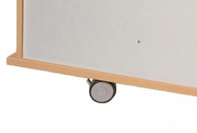 Bümö® Doppellaufrollen für Sideboards